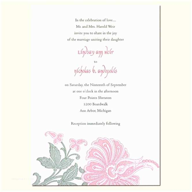 Common Wedding Invitation Wording Excellent Non Traditional Wedding Invitation Wording