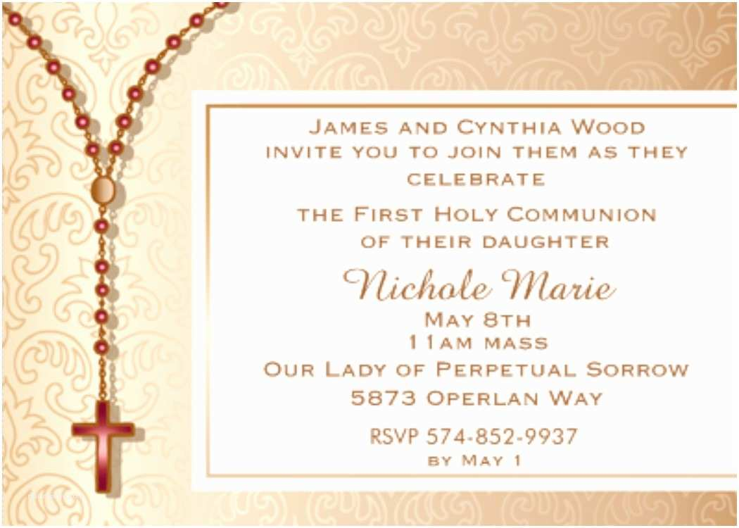Communion Invitations First Munion Party Invitations New Designs for 2018