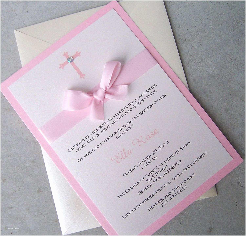 Communion Invitations for Girl Girl Baptism Invitations Precious Moments Baptism
