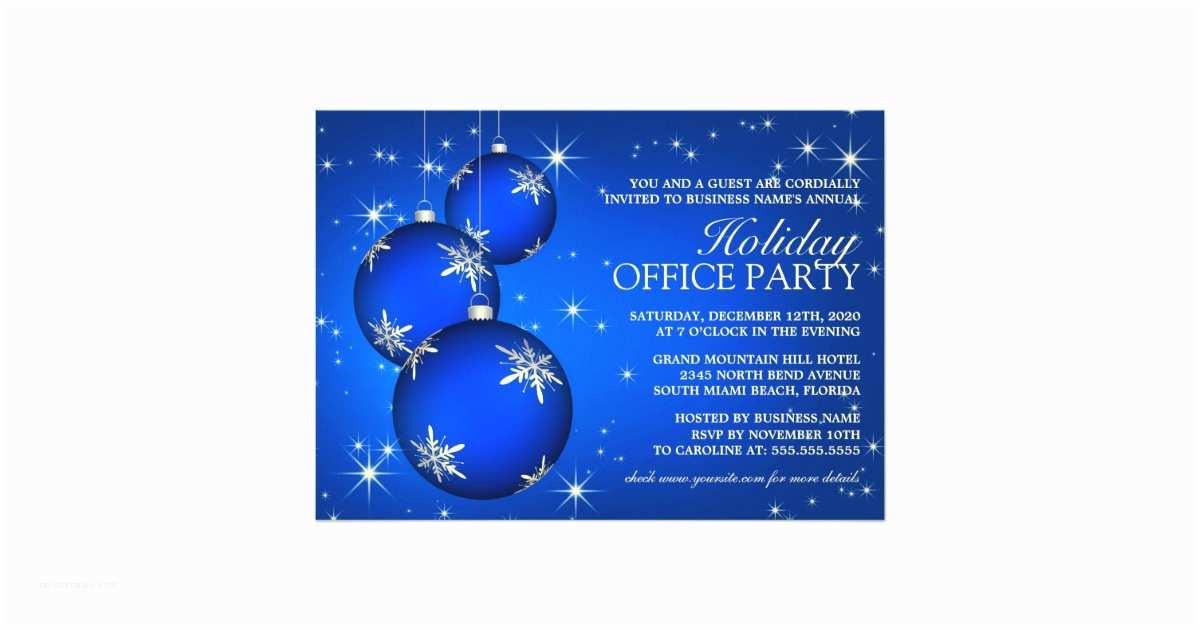 Company Holiday Party Invitation Corporate Holiday Party Invitation Template