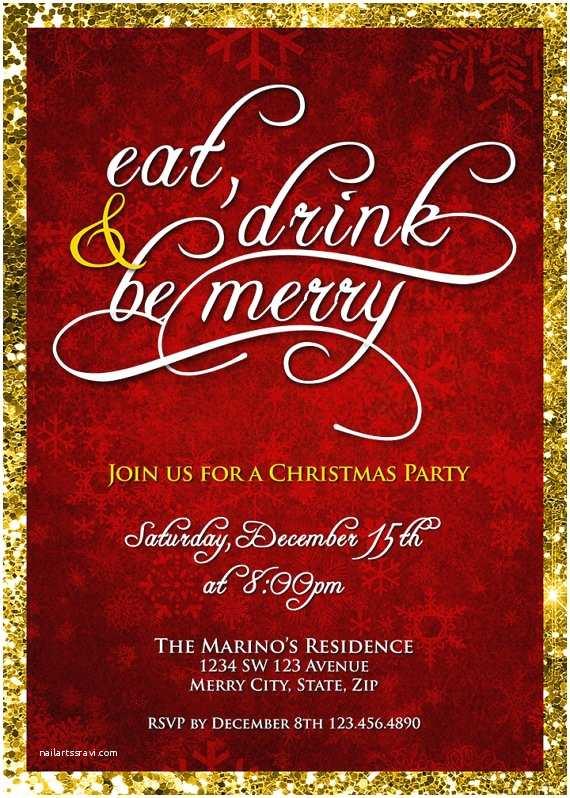 Company Holiday Party Invitation Pany Christmas Party Invitations