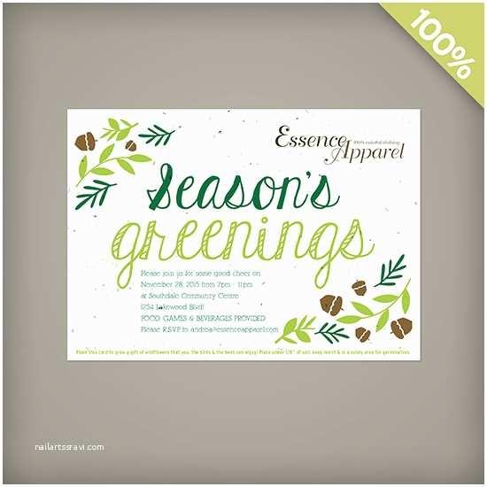 Company Holiday Party Invitation Season S Greenings Corporate Holiday Party Invitations