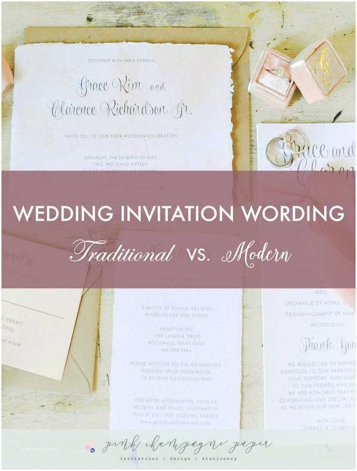 Contemporary Wedding Invitation Wording 1000 Ideas About Modern Wedding Invitation Wording On