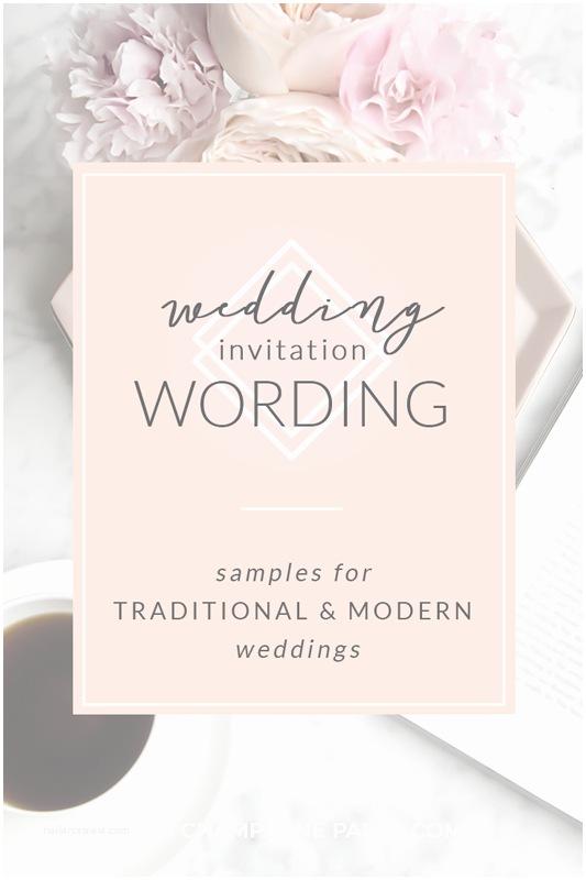 Contemporary Wedding Invitation Wording Modern Wedding Invitation Wording Modern Wedding