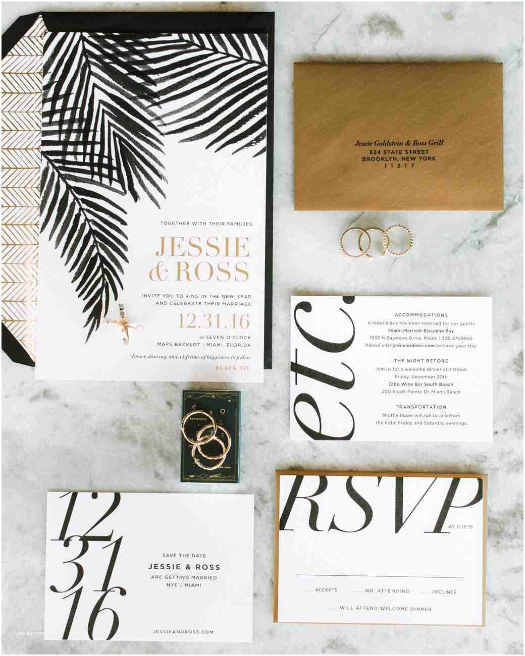 Contemporary Wedding Invitations 30 Modern Wedding Invitations We Love