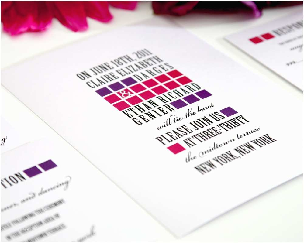 Contemporary Wedding Invitations 301 Moved Permanently