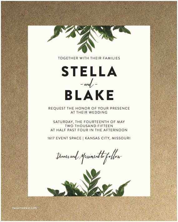 Contemporary Wedding Invitations 76 Best Invites Images On Pinterest