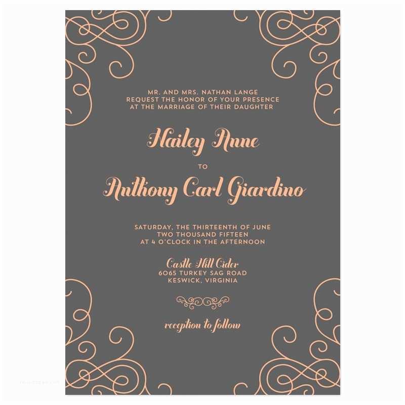 Contemporary Wedding Invitations Modern Wedding Invitation Wording Modern Wedding