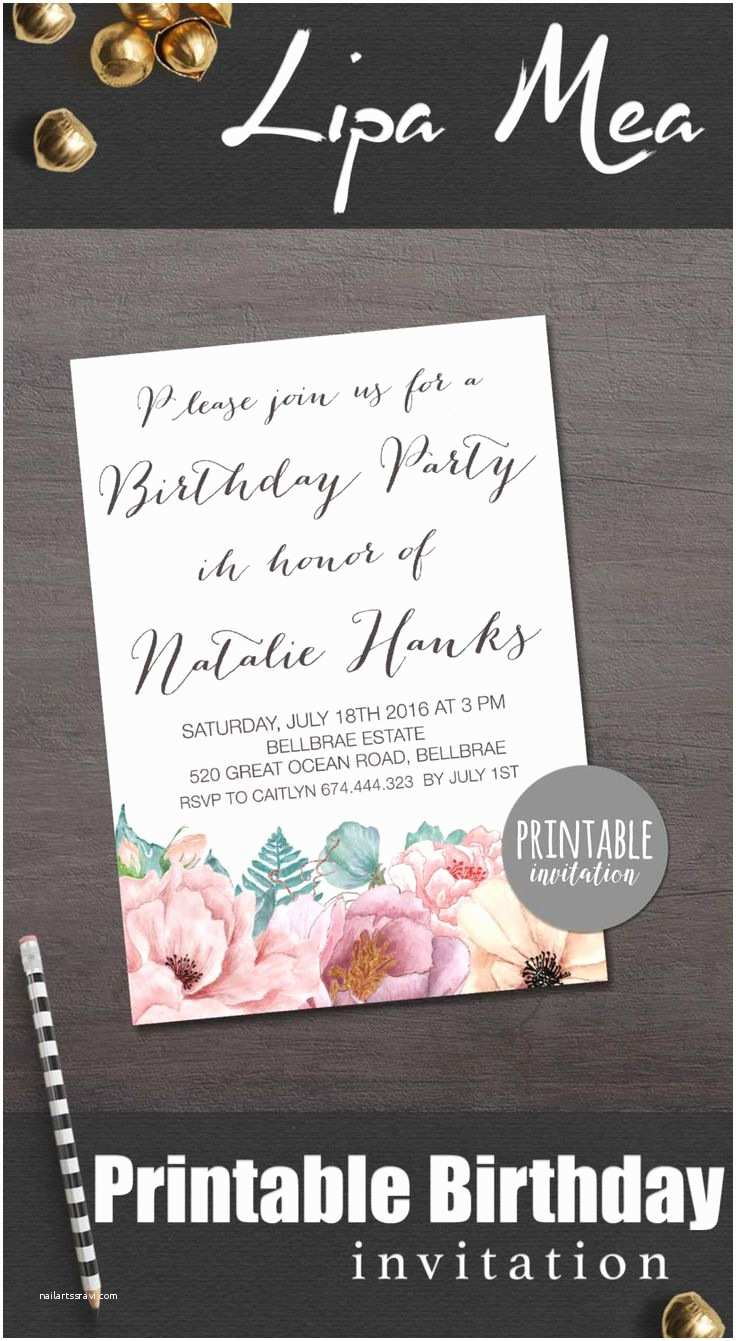 Cool Birthday Invitations Cool Party Invitations Baground Brown With Stylish