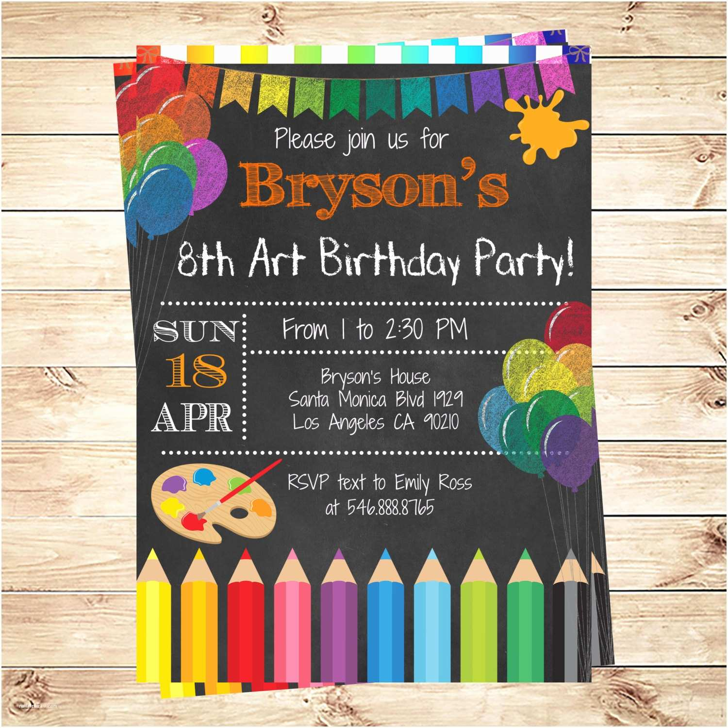 Cool Birthday Invitations Cool Party Invitations Imple Invitation Writing Paper