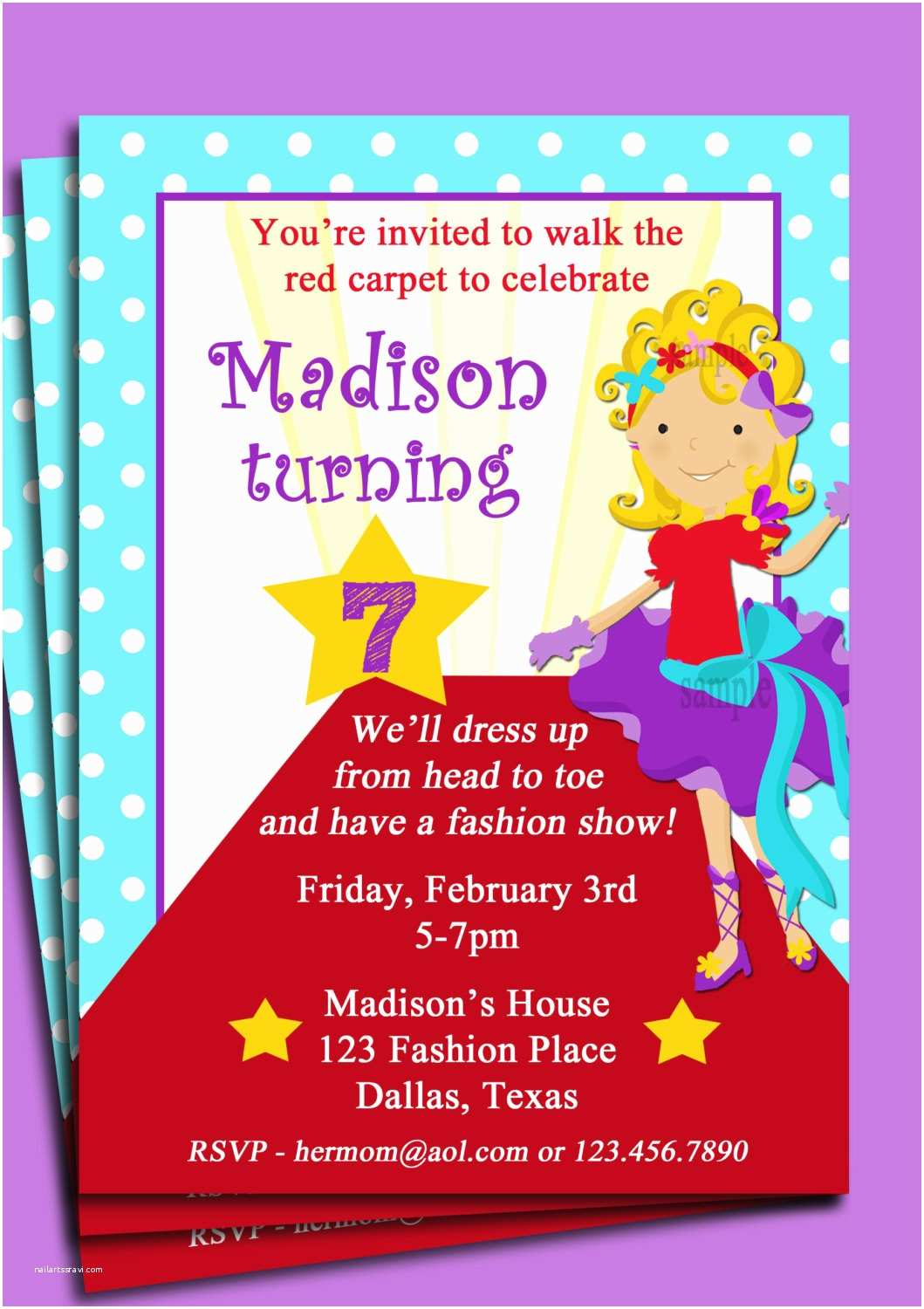 Cool Birthday Invitations Showy Cool Party Invitations Red Invitations With