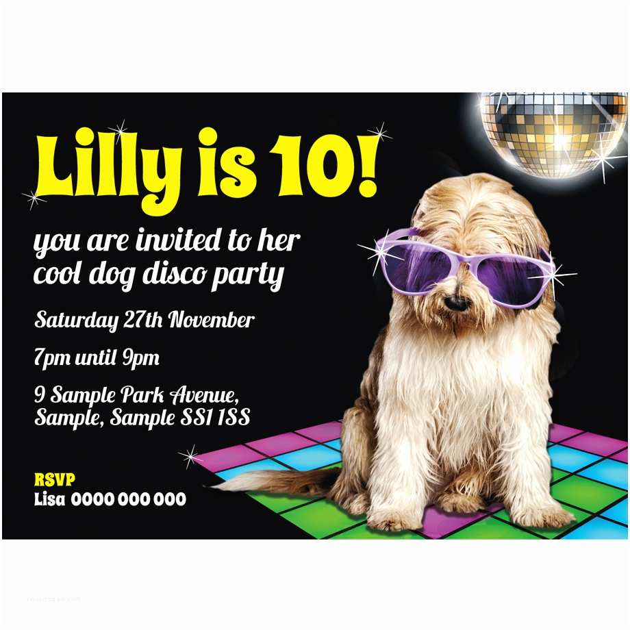 Cool Party Invitations Personalised Childrens Birthday Invitations Super Cool