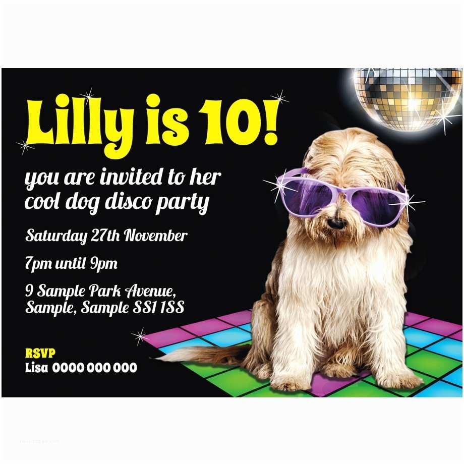 Party Invitations Personalised Childrens Birthday Invitations Super