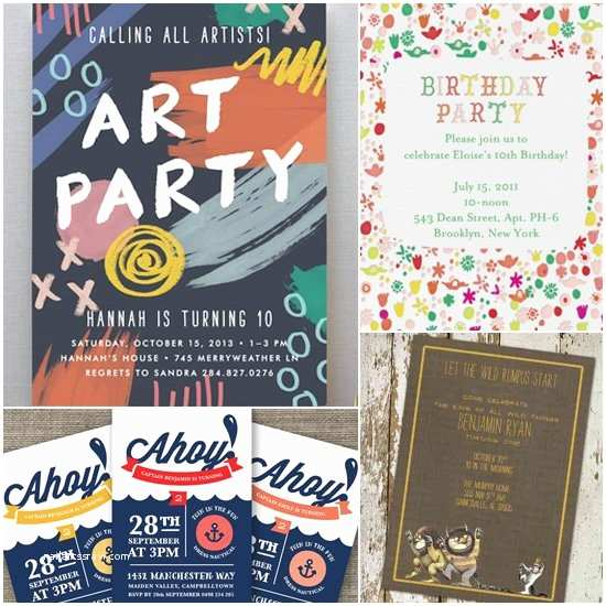 Cool Party Invitations Unique Birthday Party Invitations For