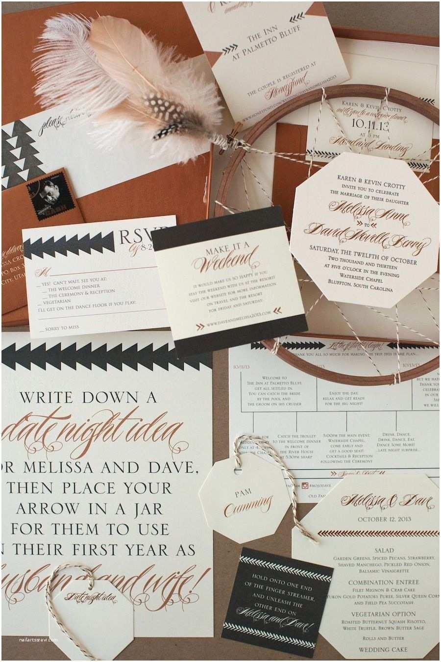 Copper Wedding Invitations Copper Willow Letterpress Wedding Invitations