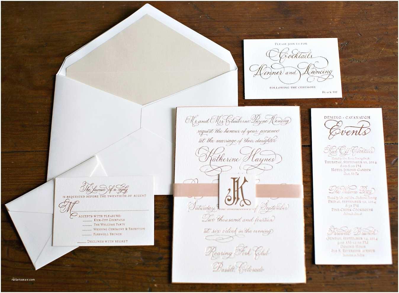 crazy for copper wedding details