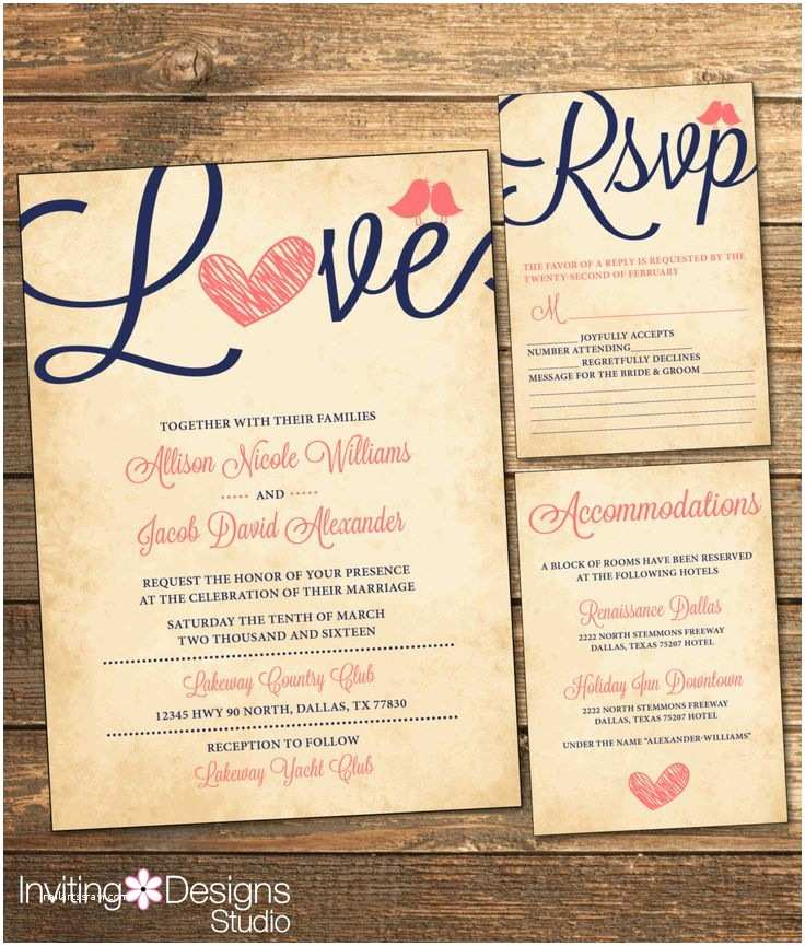 Coral and Navy Wedding Invitations Best 25 Coral Wedding Invitations Ideas On Pinterest