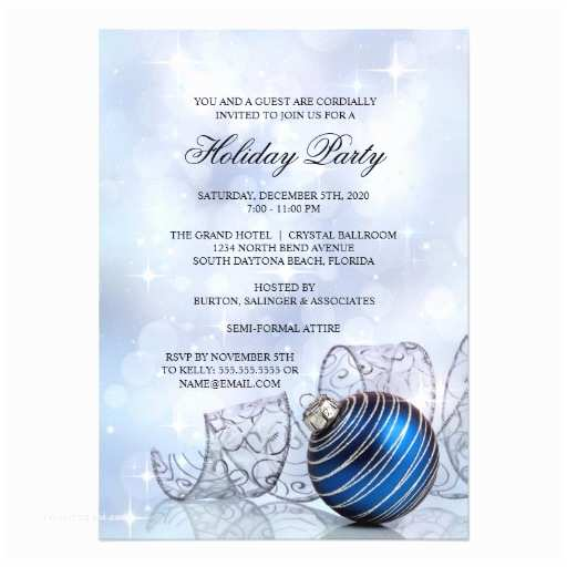 """Corporate Holiday Party Invitations Corporate Holiday Party Invitation Templates 4 5"""" X 6"""