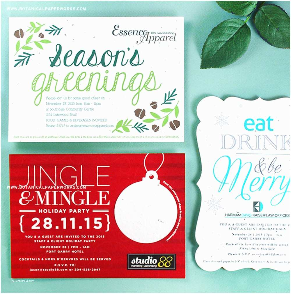Corporate Holiday Party Invitations Corporate Holiday Party Invitations & More