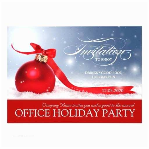 Corporate Holiday Party Invitations Corporate Holiday Party Invitations