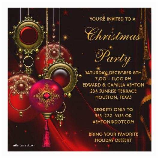 Corporate Holiday Party Invitations Pany Party Invitations – Invitations 4 U