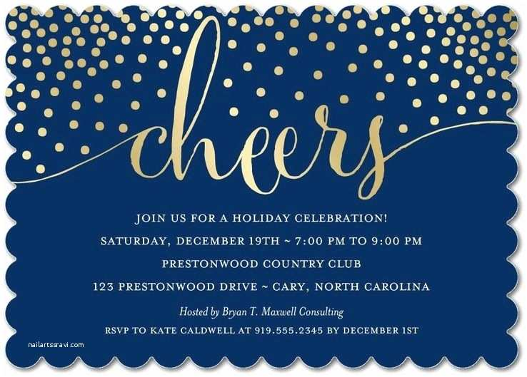 Corporate Holiday Party Vitations Rain Of Cheers Corporate Holiday Party Vitations