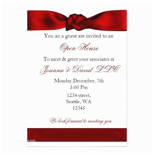 Corporate Party Invitation Wording Ideas 20 Best Images About Open House Business Invitations On