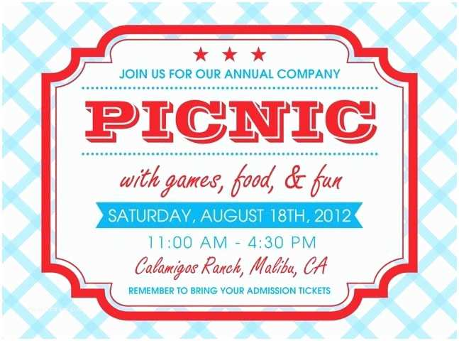 Corporate Party Invitation Wording Ideas Free Printable Picnic Invitation Template Google Search