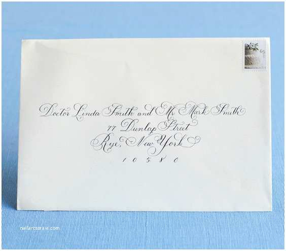 Correct Wording for Wedding Invitations Correct Way to Address Wedding Invitations H with