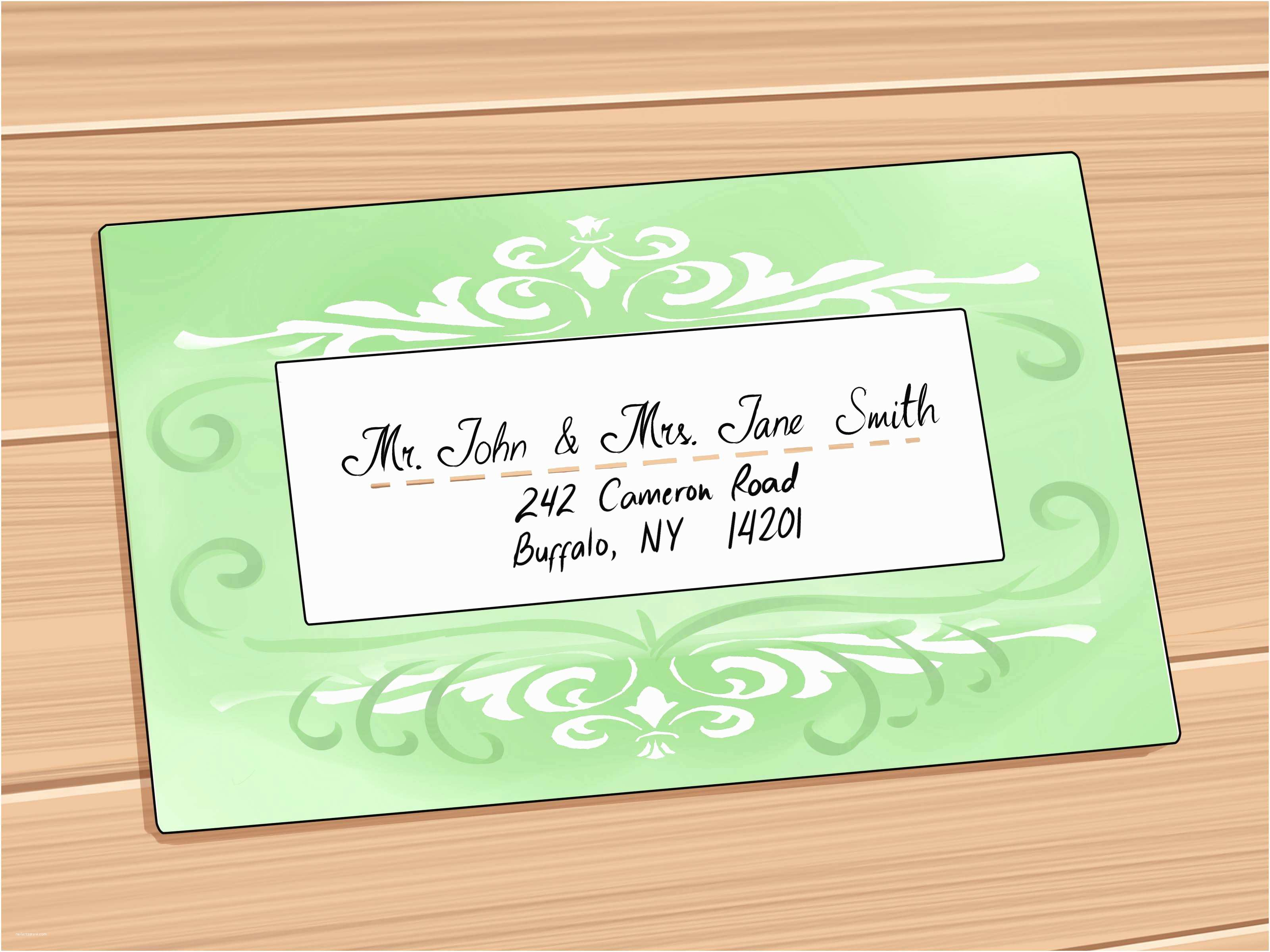 Correct Wording for Wedding Invitations Create Proper Way to Address Wedding Invitations Templates