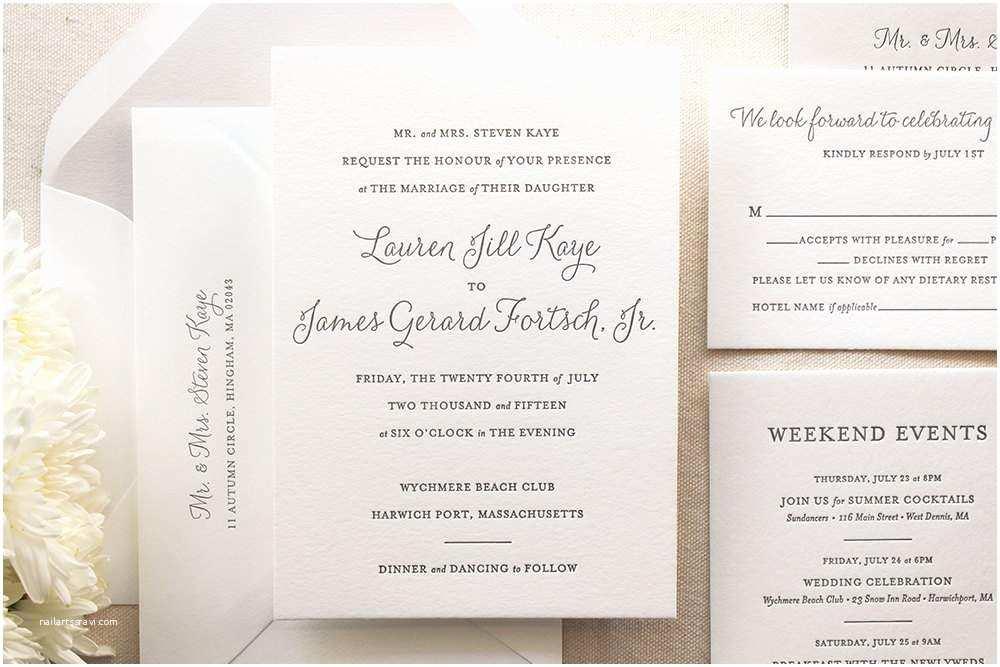Correct Wording for Wedding Invitations Proper Wedding Invitation Wording
