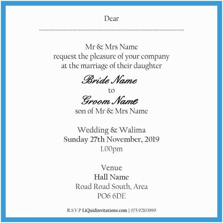 Correct Wording for Wedding Invitations Proper Wording for Wedding Invitations