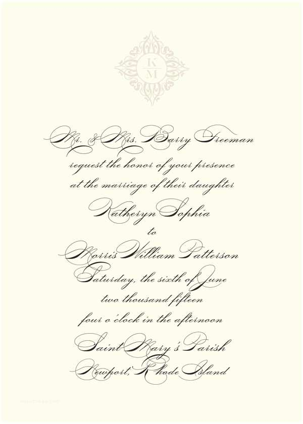 Correct Wording for Wedding Invitations Say It with Style Wording Wedding Invitations