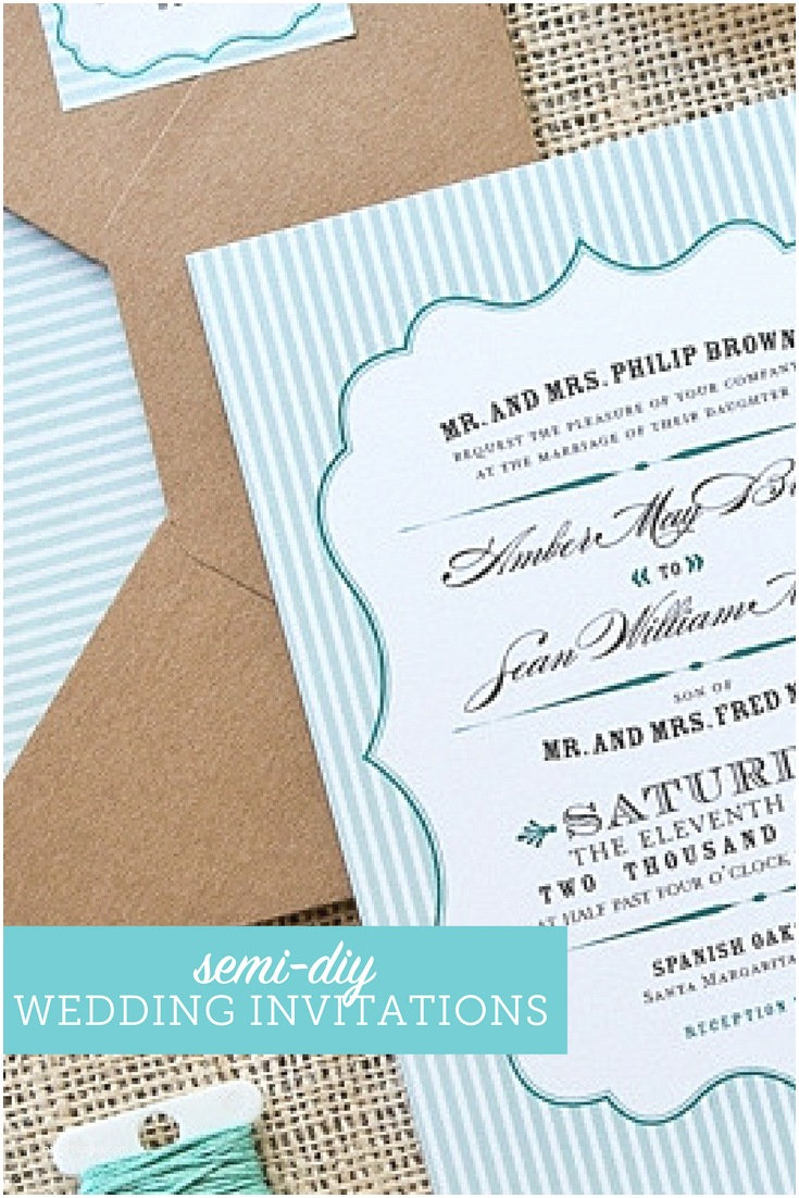 Cost Of Diy Wedding Invitations Wedding Invitations On A Bud Semi Diy Wedding Invites