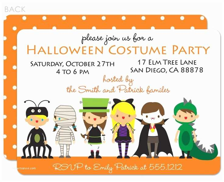 Costume Birthday Party Invitations 29 Best Halloween Costume Party Invitations Images On