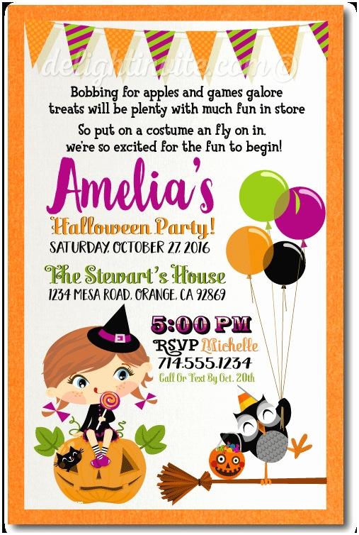 Costume Party Invitation Wording Kids Halloween Costume Party Invitation Kids Halloween