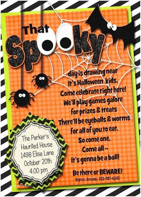 Costume Party Invitation Wording Lots Of Spooky Halloween Invitation Wording Samples and