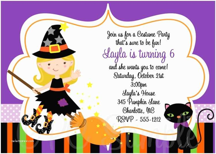 Costume Party Invitations 8 Best Of Halloween Party Printable Birthday