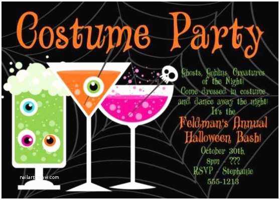 Costume Party Invitations Halloween Costume Party Invitation – Festival Collections