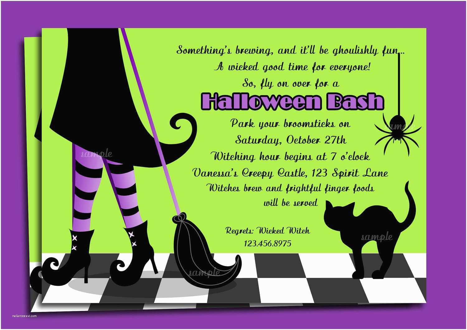 Costume Party Invitations Halloween Party Invitation Wording