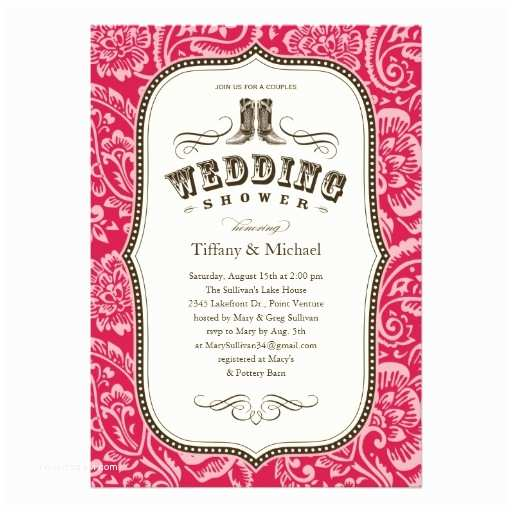 Country Bridal Shower Invitations 600 Western Wedding Shower Invitations Western Wedding