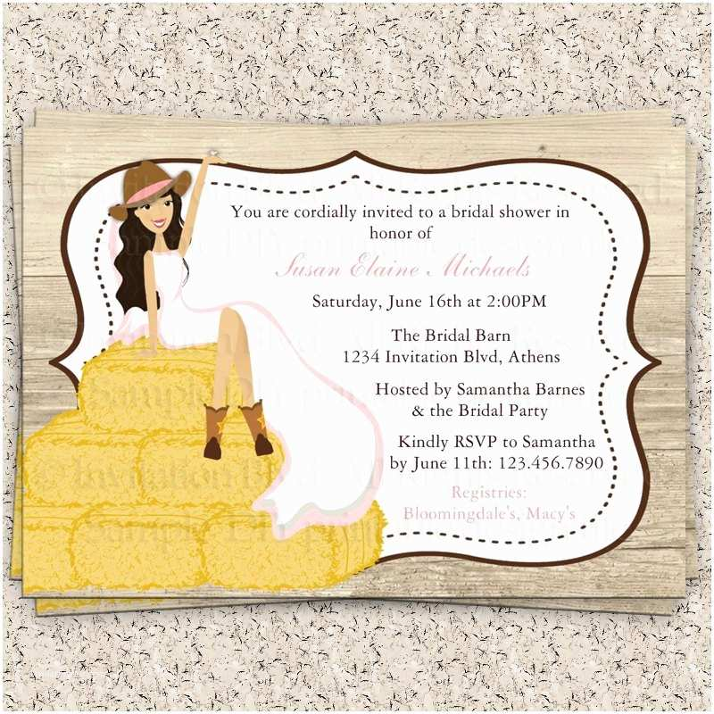 Country Bridal Shower Invitations Bridal Shower Invitations Bridal Shower Invitations