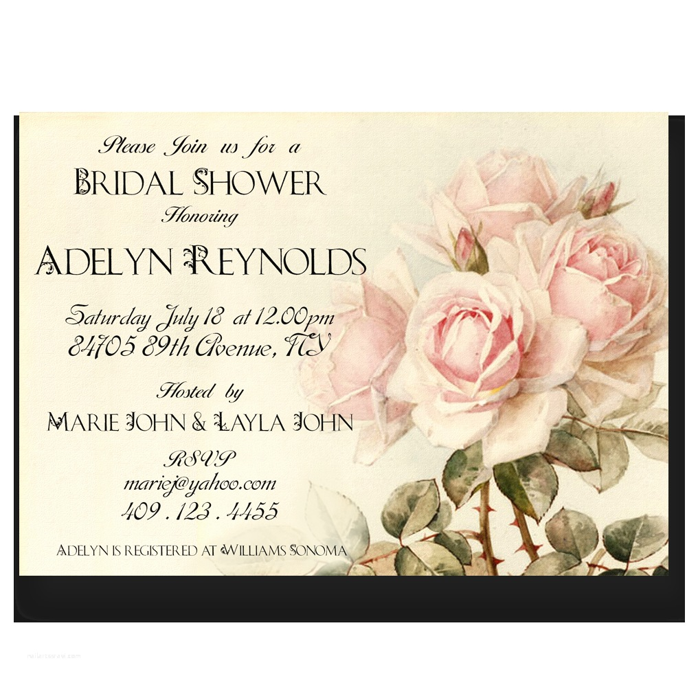 Country Bridal Shower Invitations Printable Wedding Invitations by Divine Charm Digital