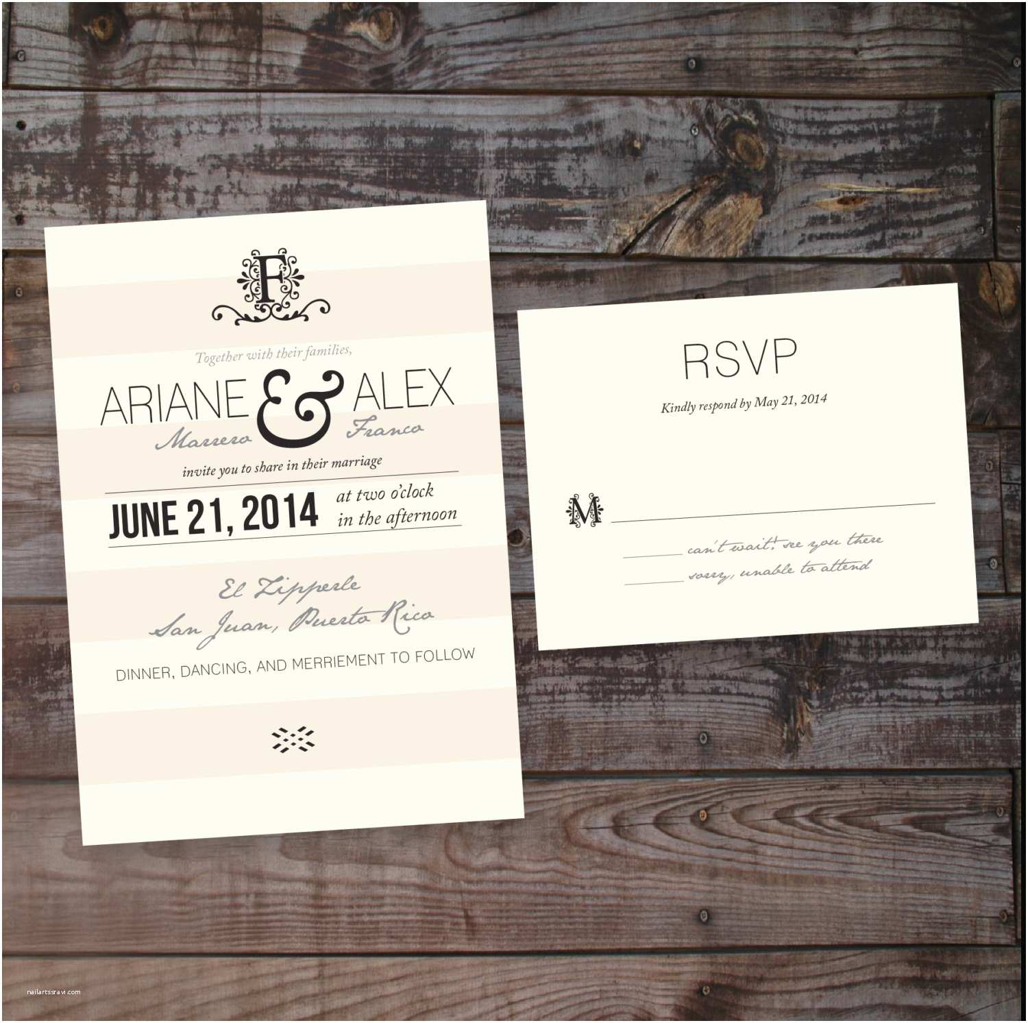 Country Chic Wedding Invitations Country Vintage Shabby Chic Wedding Invitation – Diy