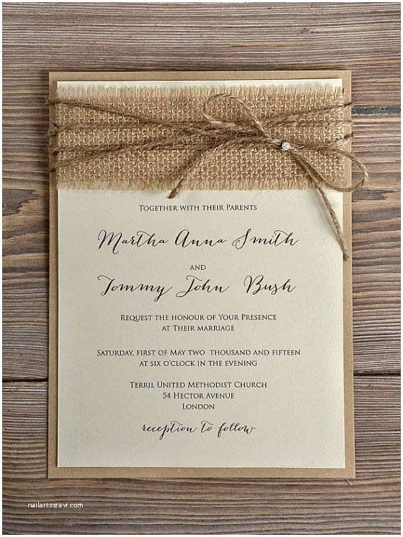 Country Chic Wedding Invitations Custom Listing for Shawn 45 Invitations Rustic Blossom