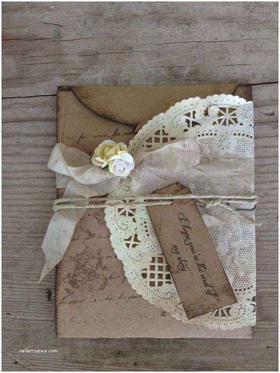 Country Chic Wedding Invitations Rustic Wedding Invitation Country Chic Invitations by