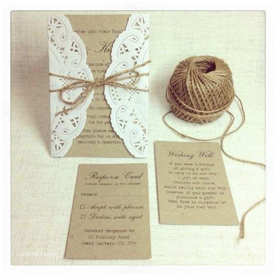 Country Chic Wedding Invitations Rustic Wedding Invitation Rustic Chic Wedding Invitation