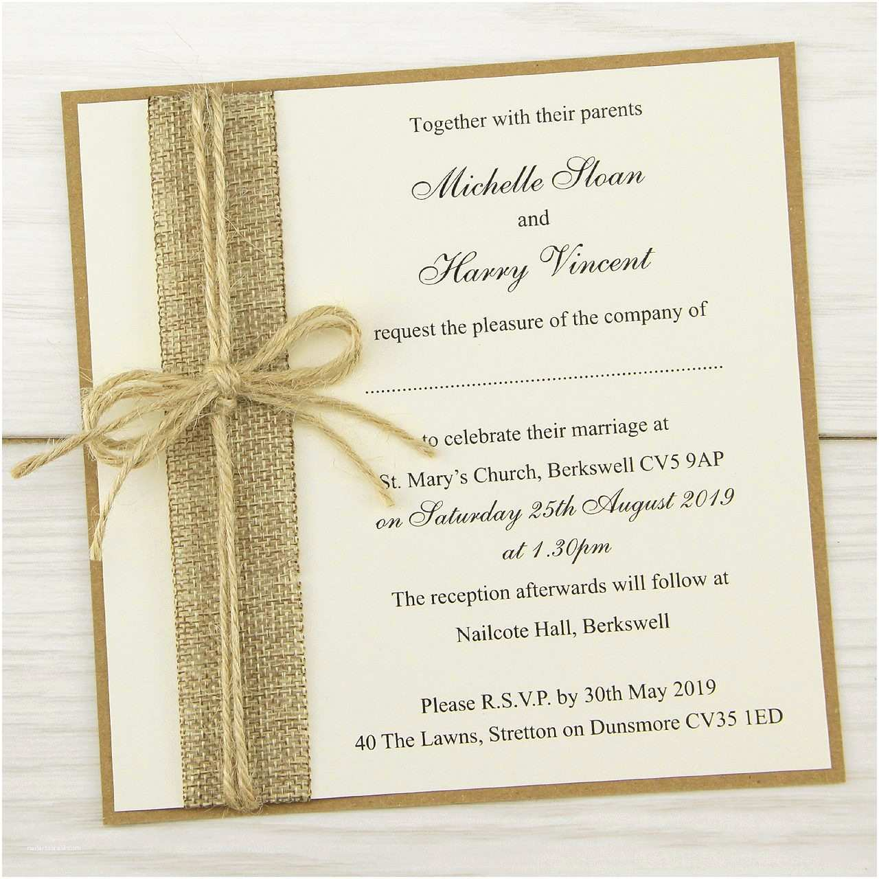 Country Chic Wedding Invitations Shabby Chic Wedding Invitations Invites with Country Chic
