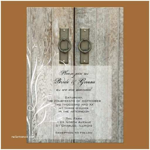 Country Rustic Wedding Invitations Country Wedding Invitations Rustic Wedding Chic