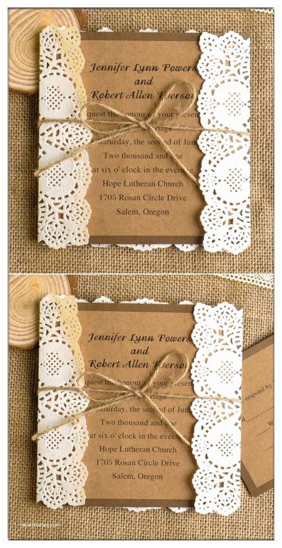 Country Rustic Wedding Invitations top 10 Chic Country Rustic Wedding Invitations with Free